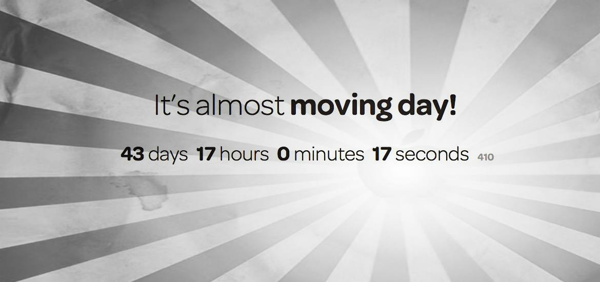 moving day is coming