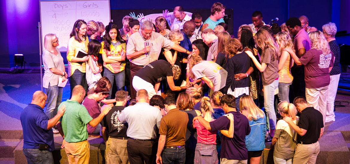 Fellowship North prays for Ines