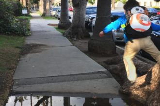 Nash jumping over a puddle
