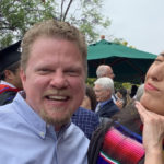 Rob and Ines were all smiles after the Fuller Theological Seminary graduation